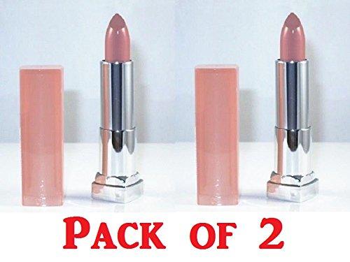 Maybelline New York Color Sensational Creamy Matte Lip Color, 970 Nude Embrace (Pack of 2)