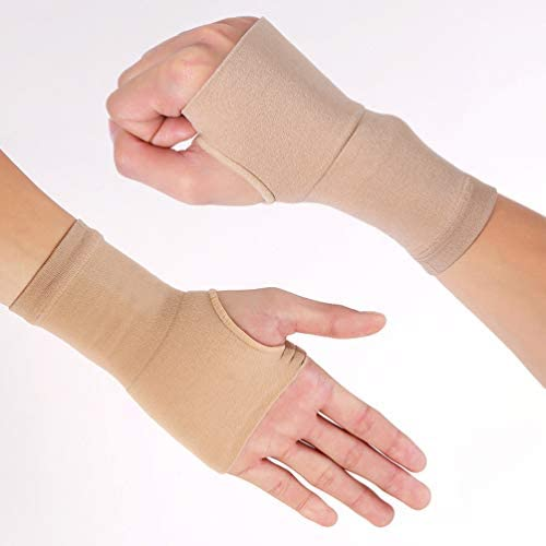 Healifty 1 Paar Handgelenk Ärmel Karpaltunnel Medizinische elastische Handflächenstütze für Sehnenscheidenentzündung Bursitis Arthritis Verstauchung