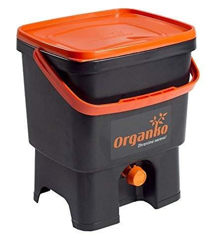 bokashi Orga Nico Juego - innovadora bio Cubo de basura para basura de cocina y Compost: Amazon.es: Hogar