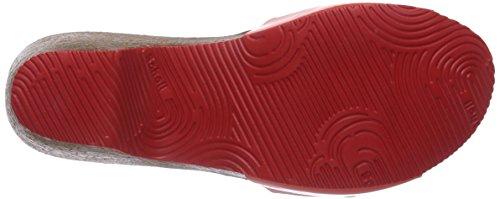 Scholl KABE coral - sandalias abiertas de material sintético mujer rojo - Rot (Coral)