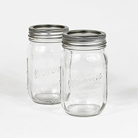 Amazon Koyal Wholesale DMC40 40Pack Vintage Drinking Mason Simple Decorative Glass Jars With Lids Wholesale
