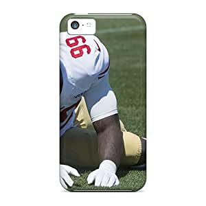 New Premium EuUxP10140IWoXF Case Cover For Iphone 5c/ Aldon Smith Hair 2013 Protective Case Cover