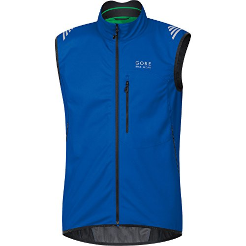 Wear So Vwselm Gore Men's Bike Brilliant Windstopper Cycling Vest Shell Blue Soft Ws pfOCfWFR