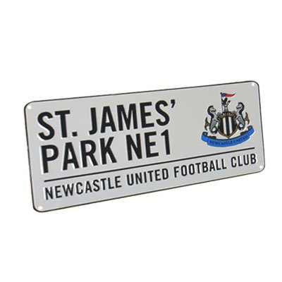 Newcastle United FC - Authentic EPL St James Park Street Sign