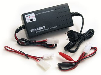 Tenergy Universal Smart 6V - 12V Charger for NiMH/NiCd Battery Packs (1025)
