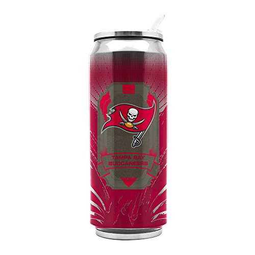 NFL Tampa Bay Buccaneers 16oz Double Wall Stainless Steel Thermocan