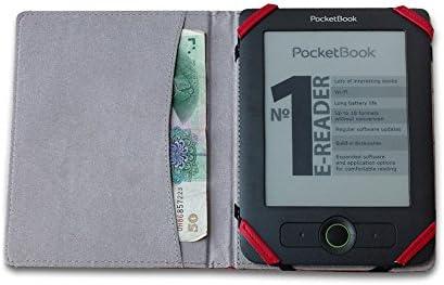 Funda universal para eReader de 6 pulgadas, compatible con tabletas Kobo, Kindle, Sony, Pocketake y Tolino, diseño con nombres de autores en relieve: Amazon.es: Electrónica