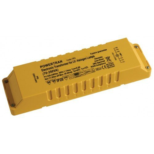 12V 105VA Low Voltage Dimmable Lighting Transformer 5yr BRACKENHEATH