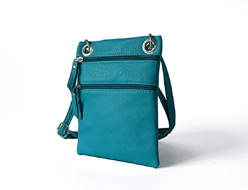 Crossbody 7 iPhone Plus PU phones Strap Plus Blue Bag all and Leather 6 with other Purse for Shoulder Phone wfxvEFfOq