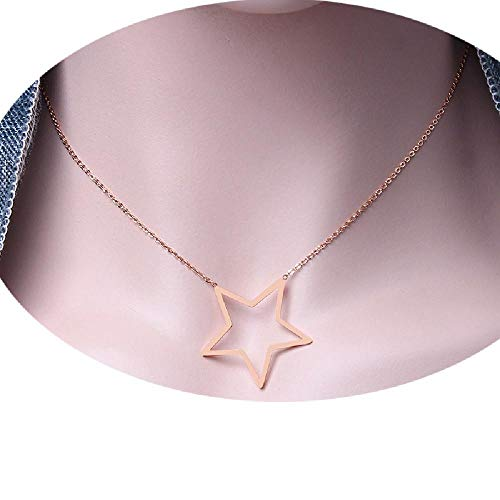 Luccaful Stainless Steel Chain Choker Best Friends