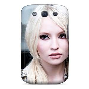 LatonyaSBlack Premium Protective Hard Case For Galaxy S3- Nice Design - Emily Browning