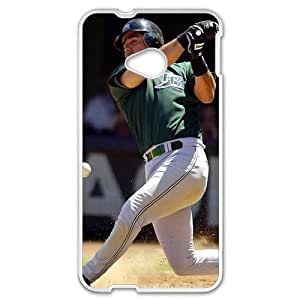 MLB&HTC One M7 White Tampa Bay Devil Rays Gift Holiday Christmas Gifts cell phone cases clear phone cases protectivefashion cell phone cases HABC605585607