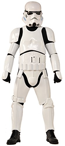 [Rubie's Collector Supreme Edition, Star Wars, Stormtrooper Costume, White, Adult Standard] (Storm Costume Cosplay)