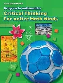 Progress in Mathematics Critical Thinking for Active Minds Workbook Grade 3