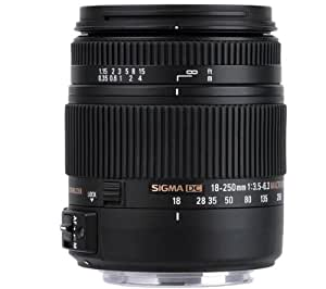 SIGMA Objetivo 18-250 mm f/3,5-6,3 Macro DC OS HSM