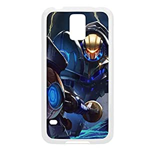 Jayce-002 League of Legends LoLDiy For HTC One M7 Case Cover Plastic White