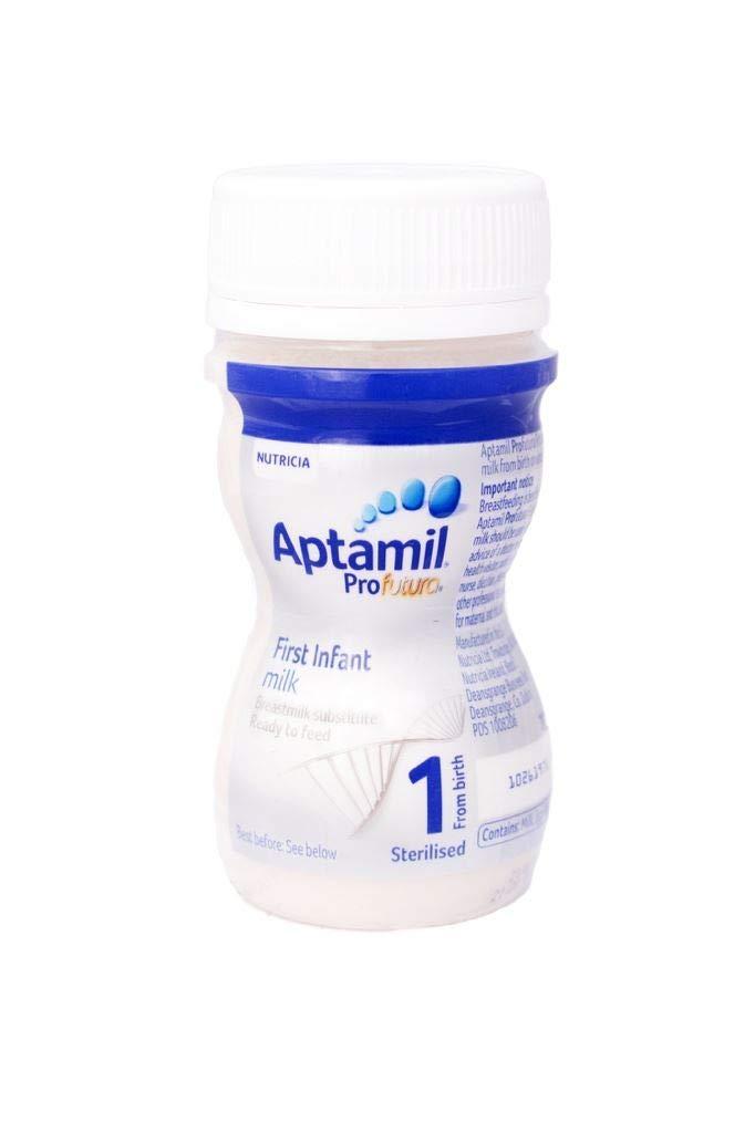 Aptamil Profutura Infant Milk,Ready to Feed ,70ml , Box of 24 Bottles Nutricia