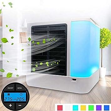 G-RF Aire Acondicionado Portatil Pantalla Digital Mini Ventilador ...