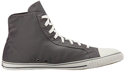 Tretorn Mens Hockey Boot Rip-stop Fashion Sneaker Grigio Antracite