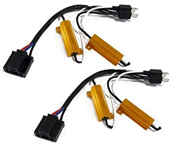 41wulZKYDiL._SX355_ kensun hid conversion kit single beam relay wiring harness with kensun hid conversion kit universal single beam relay wiring harness at edmiracle.co
