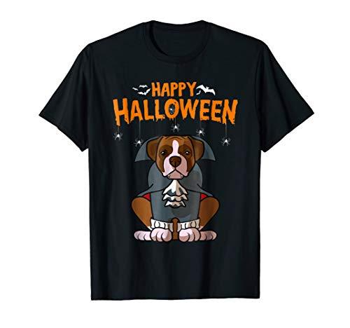 Funny Boxer Halloween Costume Dog Bone Dad Mom Shirt