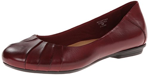 Leather de Earth Bordeaux Soporte Calf Bellwether de La Mujer U77B8Pn