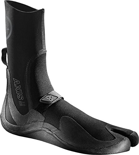 Xcel Axis Split Toe Boots Fall 2018, Black, Size 8/3mm by Xcel