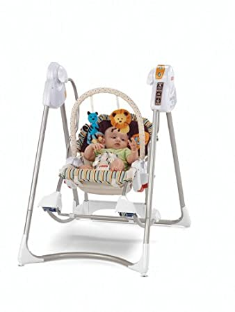d29dd4dc8 Amazon.com   Fisher-Price Smart Stages 3-in-1 Swing  n Rocker