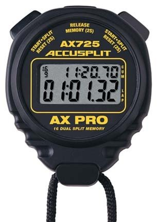 Accusplit AX725 AX Certified Pro Memory Series Stopwatch by ACCUSPLIT