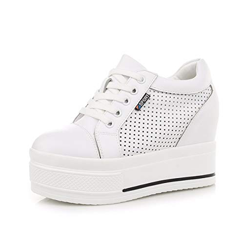 And Women'S Shoes Bottom Thick Six Thirty Inner Spring Shoes Summer Heightened White KPHY And Leisure Sports Breathable qUfXt