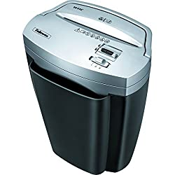 Fellowes Powershred W11c, 11-sheet Cross-cut Paper & Credit Card Shredder With Safety Lock