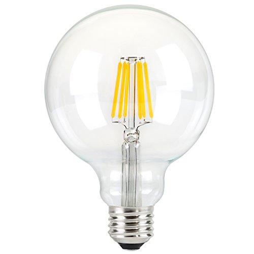 Onepre G95 Globe 4w Led Edison Bulb Antique Vintage Edison Style Led Decorative Light Bulbs