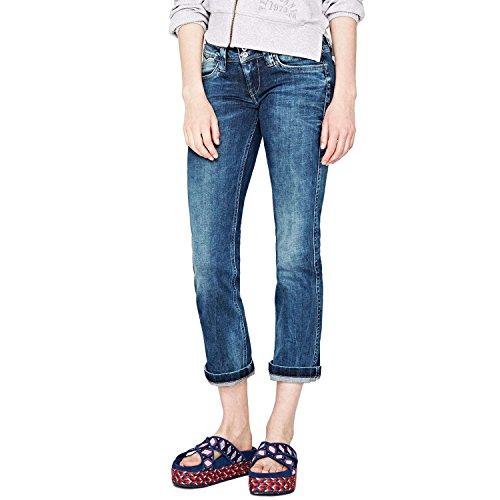 Jeans Pepe Bleu 32 Femme Jean Longueur Banji O1ww6xqd4