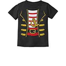 Halloween Pirate Buccaneer Costume Outfit Suit Toddler/Infant Kids T-Shirt