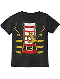 Halloween Pirate Buccaneer Costume Outfit Suit Cute Toddler/Infant Kids T-Shirt