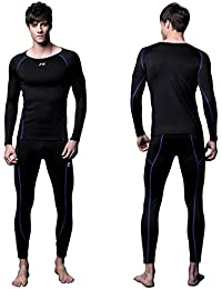 Mens MAXHEAT Compression Performance Long Johns Thermal Underwear