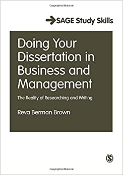 Amazon com  Doing Your Dissertation in Business and Management     Amazon com