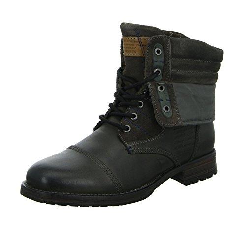 BOXX Chukka Boots Z03-Z03-05 Herren Leder Textilfutter Grau Braun