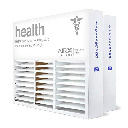 20x25x5 AIRx HEALTH Honeywell FC100A1037 Replacement Air Fil