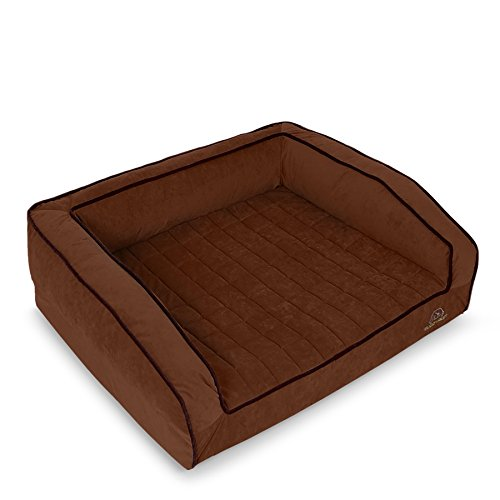 BUDDYREST Crown Supreme Memory Foam Dog Bed, Cutting Edge True Cool Memory Foam, Scientifically Calibrated to Promote Joint Health, Handmade in The USA