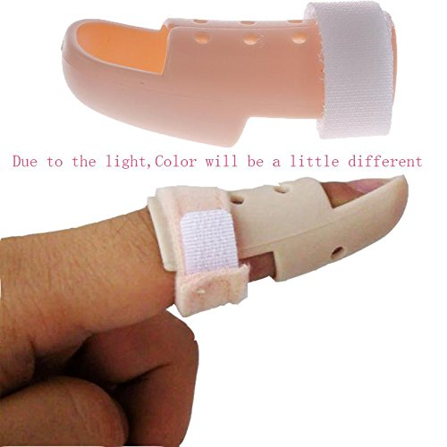 New Plastic Mallet DIP Finger Support Brace Splint Joint Protection Injury 01 48-53mm (Plastic Dip Package compare prices)