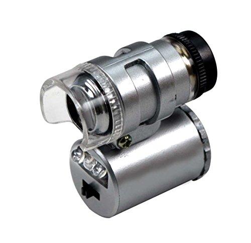 SE MW1089UV-20X Mini 20x Microscope with Illuminator and UV