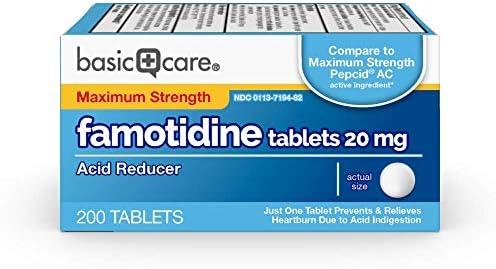 Basic Care Maximum Strength Famotidine product image
