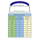 "Savvycraft Bimini Top Storage Boot 67""-72"" Width"