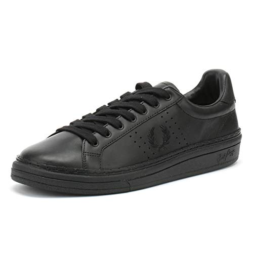 High Uomo B721 Nero 6 Fred Shine Cuoio uk Sneaker Perry FxganZ