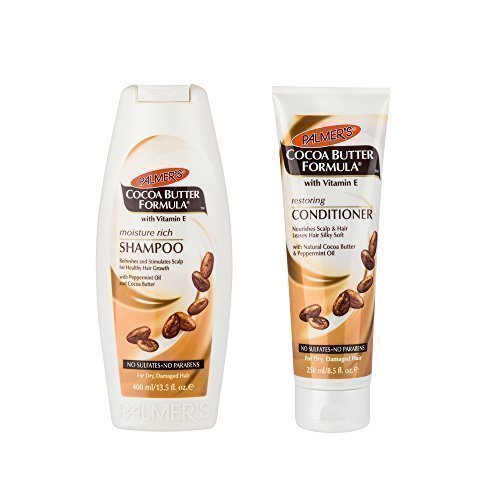 - Palmer's Cocoa Butter Formula Moisture Rich Shampoo & Restoring Conditioner