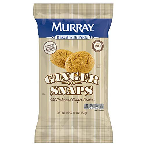 (Murray Ginger Snaps, Old Fashioned Ginger Cookies, 16 oz(Pack of 8))