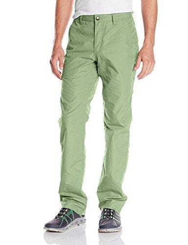 Mountain Khakis Men's Poplin Slim Fit Pants, Sage, Size 33 x (Convertible Poplin Pant)