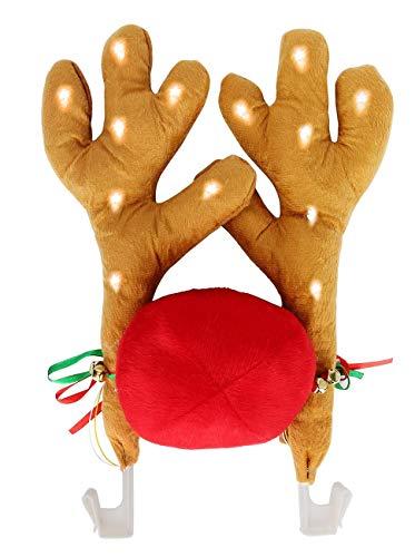 LED Christmas Car Antlers, Reindeer Antlers with