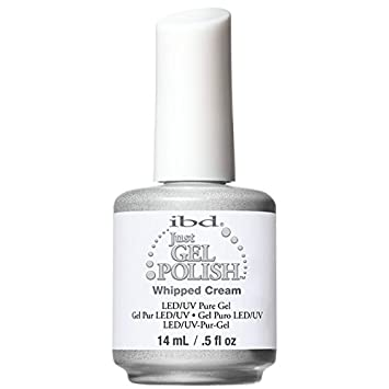 Amazon.com : IBD Just Gel Nail Polish, Whipped Cream, 0.5 Fluid ...